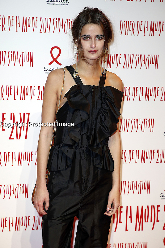 Loulou Robert - Sidaction 2017 Fashion Dinner - 26/01/2017 - Paris - France # DINER DE LA MODE DU SIDACTION 2017