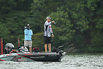 August 10, 2019: Kyle Walters on day two of the Forrest Wood Cup on Lake Hamilton in Hot Springs, Arkansas. ©Justin Manning/Eclipse Sportswire/CSM