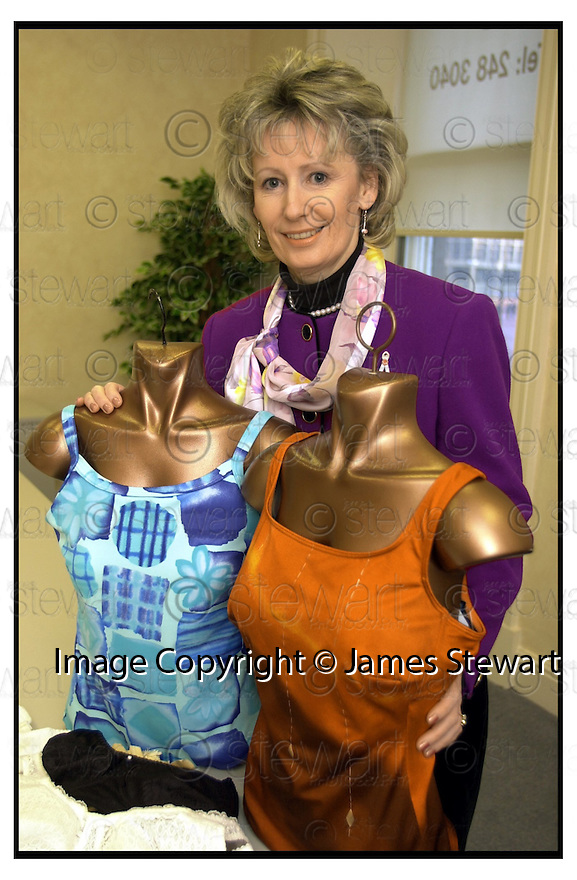 """11th February 2001    Copyright Pic : James Stewart .Ref :                           .File Name : stewart01-bras.ANNE MOORE WHO HAS SET UP THE COMPANY """"ABRA4U""""......(see copy from jim Davis)......Payments to :-.James Stewart Photo Agency, Stewart House, Stewart Road, Falkirk. FK2 7AS      Vat Reg No. 607 6932 25.Office : +44 (0) 1324 630007      Mobile : 07721 416997.Fax     : +44 (0) 1324 630007.E-mail : jim@jspa.co.uk.If you require further information then contact Jim Stewart on any of the numbers above........."""