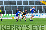 Man of the Match Tony Brosnan Dr Crokes goes past John Spillane Templenoe  during their SFC clash in Fitzgerald Stadium on Friday