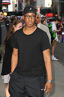 www.acepixs.com<br />  May 18, 2017 New York City<br /> <br /> Corey Hawkins leaving an appearance on 'The Late Show with Stephen Colbert' on May 18, 2017 in New York City.<br /> <br /> Credit: Kristin Callahan/ACE Pictures<br /> <br /> Tel: (646) 769 0430<br /> e-mail: info@acepixs.com