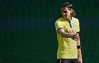 FUSSBALL   DFB POKAL   SAISON 2012/2013   1. Hauptrunde FC Oberneuland - Borussia Dortmund            18.08.2012 Neven Subotic (Borussia Dortmund)