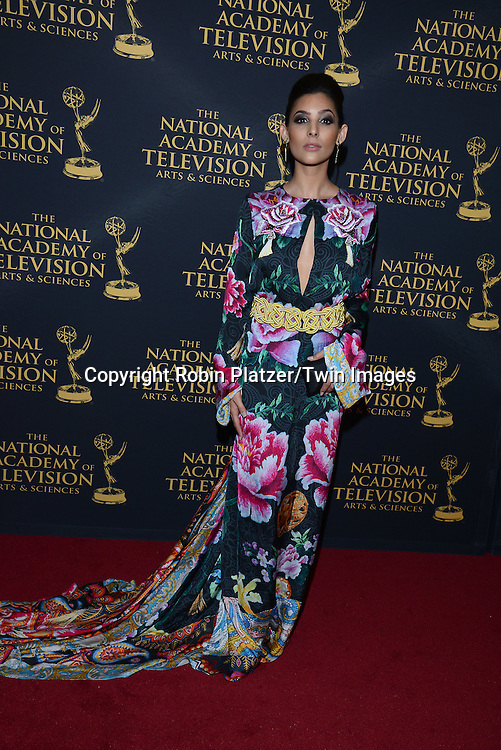 Camila Banus attends the Creative Arts Emmy Awards on April 24, 2015 at the Universal l Hilton in Universal City,<br /> California, USA.