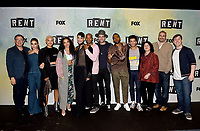 "RENT: JAN 15, 2019: (L-R) Director Michael Greif, Vanessa Hudgens, Kiersey Clemons, Tinashe, Valentina, Brandon Victor Dixon, Brennin Hunt, Mario, Jordan Fisher, Executive Producer Julie Larson,  Executive Producer Adam Siegel, and moderator Thomas Sanders attend FOX'S ""RENT"" Sing-Along YouTube Event at the YouTube Space on January 15, 2019, in Los Angeles, California. (Photo by Frank Micelotta/Fox/PictureGroup)"