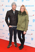 Sam Branson &amp; wife Isabella Calthorpe at WE Day 2016 at Wembley Arena, London.<br /> March 9, 2016  London, UK<br /> Picture: Steve Vas / Featureflash