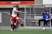 National Youth League - Phoenix v Canterbury United at Petone Memorial Park, Lower Hutt, New Zealand on Saturday 10 November 2018. <br /> Photo by Masanori Udagawa. <br /> www.photowellington.photoshelter.com