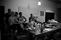Chris Bryan, John Florence, Matt Meola, Albee Layer Blake Kurney and Sean in Gnarabup in Western Australia.