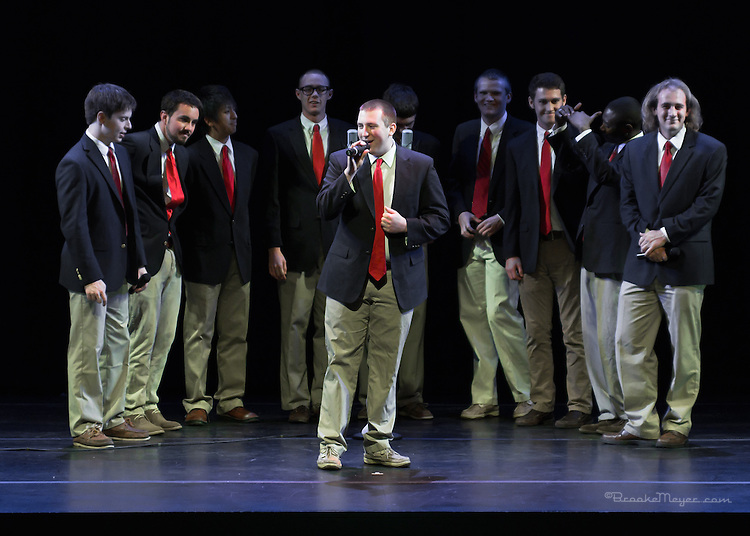 NC State Men's A Cappela Group. Cary Ballet Company's 16th Annual Spring Gala, 7 PM Friday, 15 March 2013, Cary Arts Center.