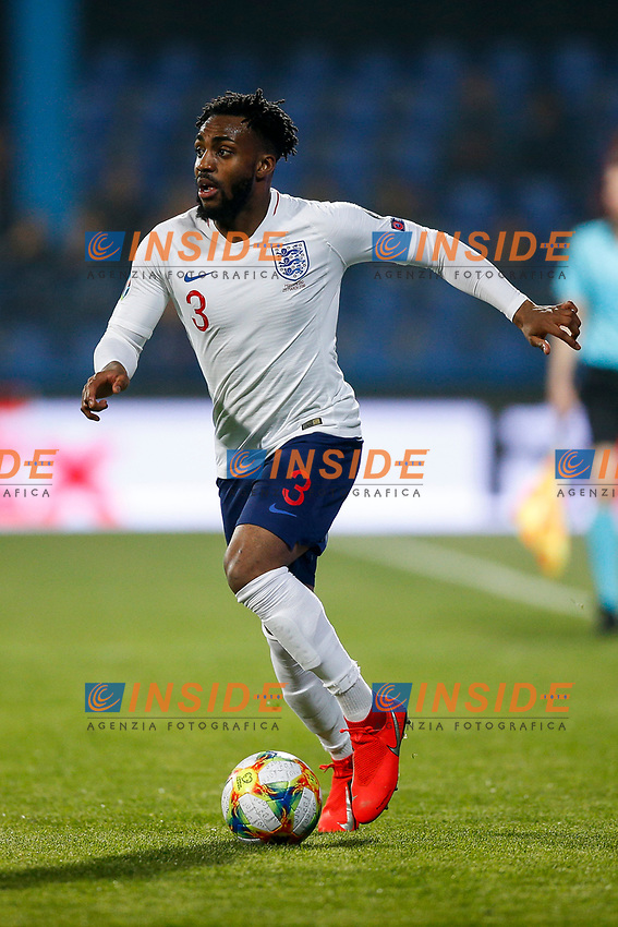 Danny Rose of England  <br /> Podgorica 25-3-2019 <br /> Football Euro2020 Qualification Montenegro - England <br /> Foto Daniel Chesterton / PHC / Insidefoto <br /> ITALY ONLY