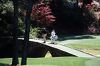 8th April 2001; Augusta, GA, USA; Bernhard Langer US Masters 2000 in Augusta USA with Caddy Coleman Augusta USA