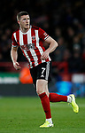 John Lundstram of Sheffield Utd during the Premier League match at Bramall Lane, Sheffield. Picture date: 5th December 2019. Picture credit should read: Simon Bellis/Sportimage