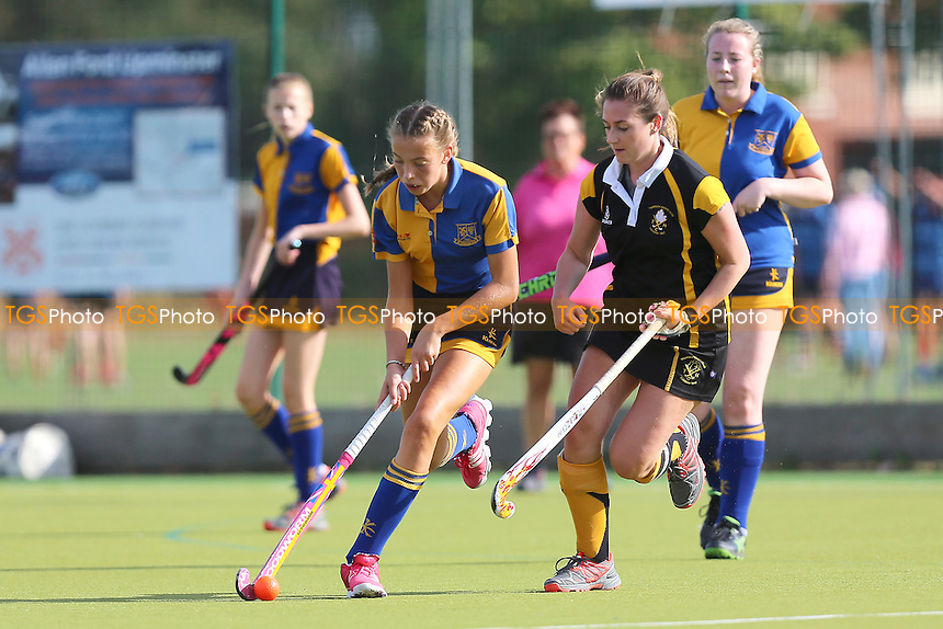 Upminster HC Ladies 4th XI vs Thurrock HC Ladies 3rd XI, Essex Women's League Field Hockey at the Coopers Company and Coborn School on 24th September 2016