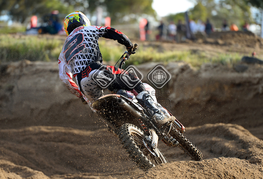 Kale Makeham / KTM<br /> MXN Round 5 - Wanneroo / MX2<br /> 2014 Monster Energy MX Nationals<br /> Australian Motocross Championship<br /> Wanneroo WA 25th May 2014<br /> &copy; Sport the library / Jeff Crow