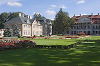 Europe/Pologne/env de Lublin/ Kozlowska: château de Kozlowska - le palais baroque de la famille Zamoyski