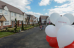 Redrow Homes Official opening of  at Belle View at Mon Bank Newport with Cardiff Blues Players Alex Cuthbert and Rhys Williams - Newport <br /> <br /> &copy; www.sportingwales.com- PLEASE CREDIT IAN COOK