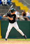21 April 2007: University of Vermont Catamounts' Will Huntington, a Senior from Montville, CT, in action against the University of Hartford Hawks at Historic Centennial Field, in Burlington, Vermont...Mandatory Photo Credit: Ed Wolfstein Photo