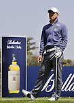 JEJU, SOUTH KOREA - APRIL 24:  Anthony Kim of USA waits to play on the 17th tee during the Round Two of the Ballantine's Championship at Pinx Golf Club on April 24, 2010 in Jeju island, South Korea. Photo by Victor Fraile / The Power of Sport Images