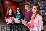 Caitriona Horgan (Blennerville, Tralee), Sheila Mulligan (Castleisland), Robert Harrington (Kilmoyley) and  Klaudia Sitkowska (Tralee), students from Brookfield College, Tralee, who received their Leaving Certificate results on Wednesday morning last.