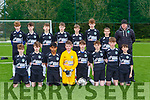 The Killarney Celtic team that played Castleisland AFC  in the u14 Premier league in Georgie O'Callaghan PArk on Saturday