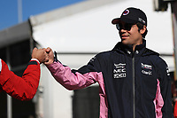 2nd November 2019; Circuit of the Americas, Austin, Texas, United States of America; Formula 1 United Sates Grand Prix, qualifying day; SportPesa Racing Point, Lance Stroll - Editorial Use