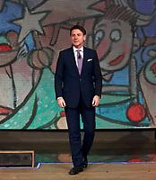 Giuseppe Conte<br /> Rome December 17th 2019. The Italian Premier appears as a guest on the tv show Di Martedi'<br /> Foto Samantha Zucchi Insidefoto