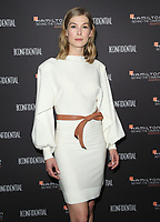 04 November 2018 - Los Angeles, California - Rosamund Pike. 10th Hamilton Behind the Camera Awards hosted by Los Angeles Confidential at Exchange LA. <br /> CAP/ADM/FS<br /> &copy;FS/ADM/Capital Pictures