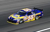 Feb 29, 2008; Las Vegas, NV, USA; NASCAR Sprint Cup Series driver Michael Waltrip during practice for the UAW Dodge 400 at Las Vegas Motor Speedway. Mandatory Credit: Mark J. Rebilas-
