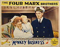 Monkey Business (1931) <br /> Lobby card with Harpo Marx &amp; Tom Kennedy<br /> *Filmstill - Editorial Use Only*<br /> CAP/KFS<br /> Image supplied by Capital Pictures