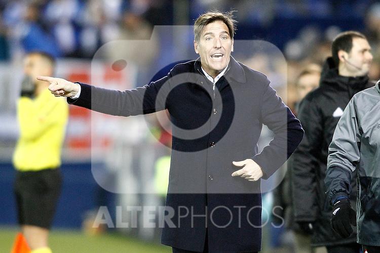 Celta de Vigo's coach Eduardo Toto Berizzo during La Liga match. January 28,2017. (ALTERPHOTOS/Acero)