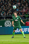 11.02.2018, Weserstadion, Bremen, GER, 1.FBL, SV Werder Bremen vs VfL Wolfsburg<br /> <br /> im Bild<br /> Milos Veljkovic (Werder Bremen #13),  <br /> <br /> Foto &copy; nordphoto / Ewert