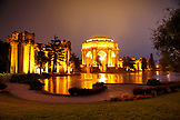 USA, California, San Francisco, the Palace of Fine Arts located in the Marina District of the city