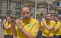 Vol Black Ryan RFB, Coatbridge United Irishmen Flute Band, RSF Public march and rally in Birmingham