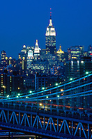"#JP0406 ""Manhattan Bridge & Manhattan Towers - New York NY"