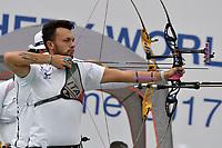 David Pasqualucci <br /> Roma 01-09-2017 Stadio dei Marmi <br /> Roma 2017 Hyundai Archery World Cup Final <br /> Finale Coppa del mondo tiro con l'arco <br /> Foto Andrea Staccioli Insidefoto/Fitarco