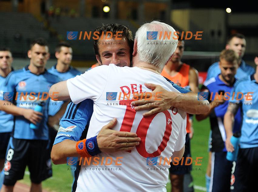 Alessandro Del Piero-Marcello Cestaro<br /> Padova 07-08-2013 Amichevole Padova - Sidney FC <br /> Foto Nicolo Zangirolami / Image / Insidefoto