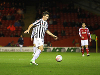 Kenny McLean in the Aberdeen v St Mirren Scottish Communities League Cup match played at Pittodrie Stadium, Aberdeen on 30.10.12.