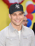 WESTWOOD, CA - AUGUST 09: Actor Ryan Guzman arrives at the Premiere Of Sony's 'Sausage Party' at Regency Village Theatre on August 9, 2016 in Westwood, California.