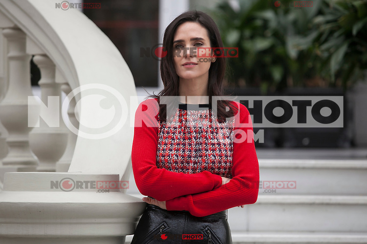 U.S. actress Jennifer Connelly poses for the photographers during `No corras, vuela&acute; (Aloft) film presentation in Madrid, Spain. January 21, 2015. (ALTERPHOTOS/Victor Blanco) /NortePhoto<br />