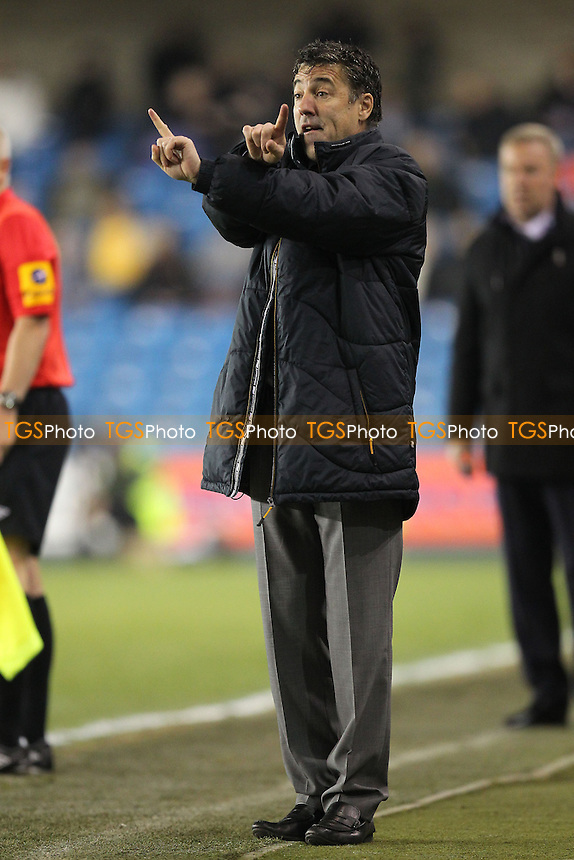 Wolverhampton Wanderers manager Dean Saunders - Millwall vs Wolverhampton Wanderers - NPower Championship Football at The New Den, London - 05/03/13 - MANDATORY CREDIT: Gavin Ellis/TGSPHOTO - Self billing applies where appropriate - 0845 094 6026 - contact@tgsphoto.co.uk - NO UNPAID USE.