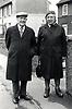 Elderly couple, Nottingham UK 1987