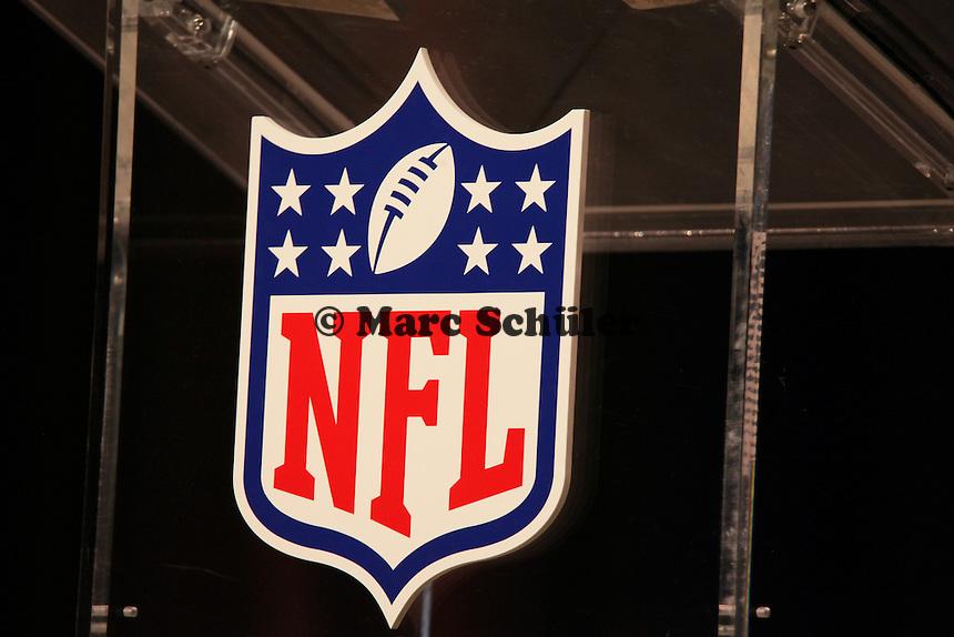 Logo der NFL - Draft Pressekonferenz, Sheraton Downtown Phoenix Hotel