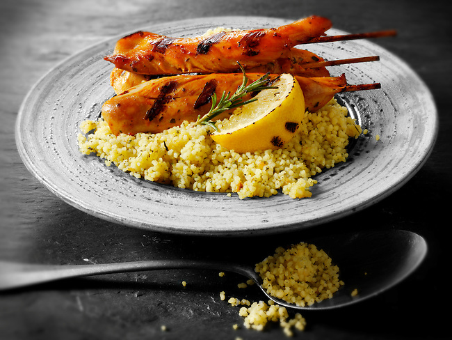 Chicken Kebab & couscous