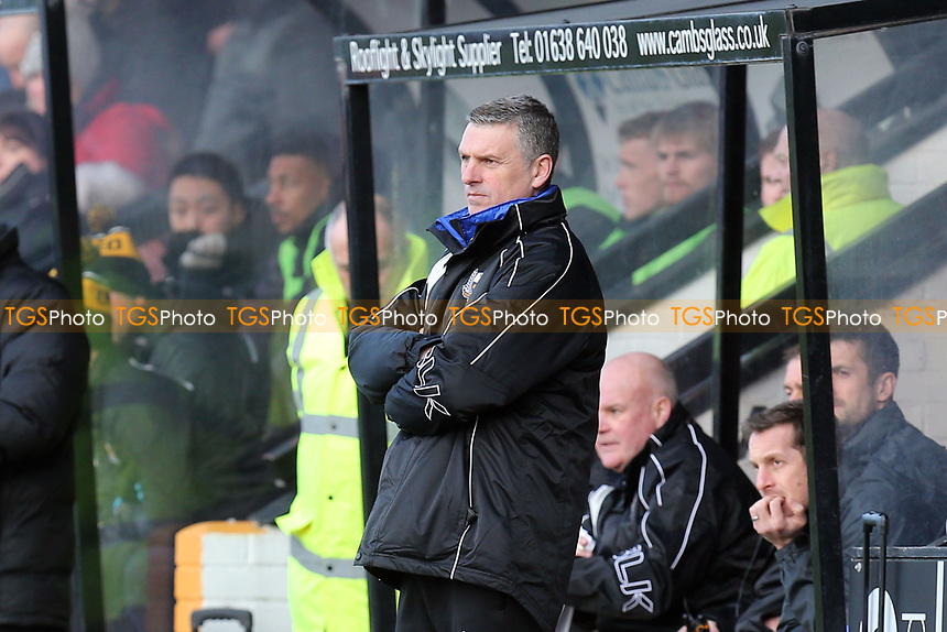 Port Vale Manager John Askey during Cambridge United vs Port Vale, Sky Bet EFL League 2 Football at the Cambs Glass Stadium on 9th February 2019