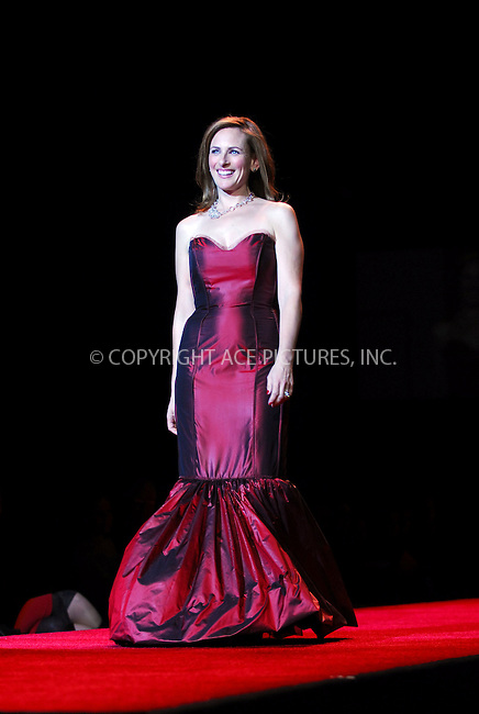 WWW.ACEPIXS.COM . . . . . ....February 2, 2007. New York City.....Marlee Matlin wearing Douglas Hannant during Heart Truth Red Dress Collection Fall 2007.....Please byline: KRISTIN CALLAHAN - ACEPIXS.COM.. . . . . . ..Ace Pictures, Inc:  ..(212) 243-8787 or (646) 679 0430..e-mail: picturedesk@acepixs.com..web: http://www.acepixs.com