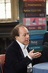 Javier Marias in the Divinity School at the Bodleian Library during the Sunday Times Oxford Literary Festival, UK, 16 - 24 March 2013.<br />