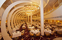 A- The Main Dining Room aboard HAL Koningsdam S. Caribbean Cruise, Caribbean Sea 3 19