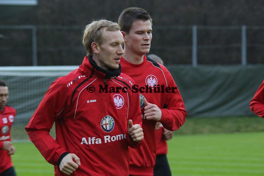 Jan Rosenthal und Alexander Madlung (Eintracht)