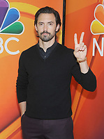 NEW YORK, NY - MAY 09:Milo Ventimiglia  attends the 2019/2020 NBC Upfront presentation at the    Fourr Seasons Hotel on May 13, 2019in New York City.  <br /> CAP/MPI/JP<br /> ©JP/MPI/Capital Pictures