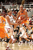 STANFORD, CA - DECEMBER 19:  Jayne Appel of the Stanford Cardinal during Stanford's 67-52 win over the Tennessee Lady Volunteers on December 19, 2009 at Maples Pavilion in Stanford, California.