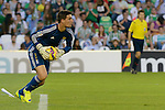Goalkeeper Sotres during the match between Real Betis and Recreativo de Huelva day 10 of the spanish Adelante League 2014-2015 014-2015 played at the Benito Villamarin stadium of Seville. (PHOTO: CARLOS BOUZA / BOUZA PRESS / ALTER PHOTOS)